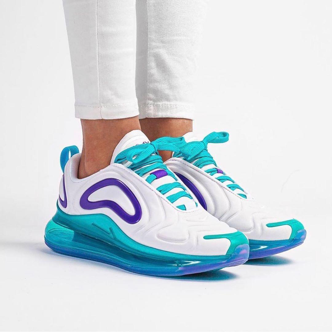 Purple Nike Air Max 720 sneakers