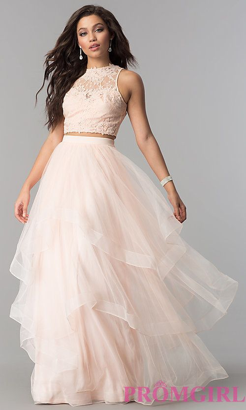 Long Tulle Prom Dresses