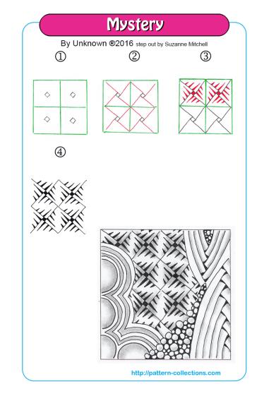 New patterns | Zentangle, Azteca y Patrones aztecas