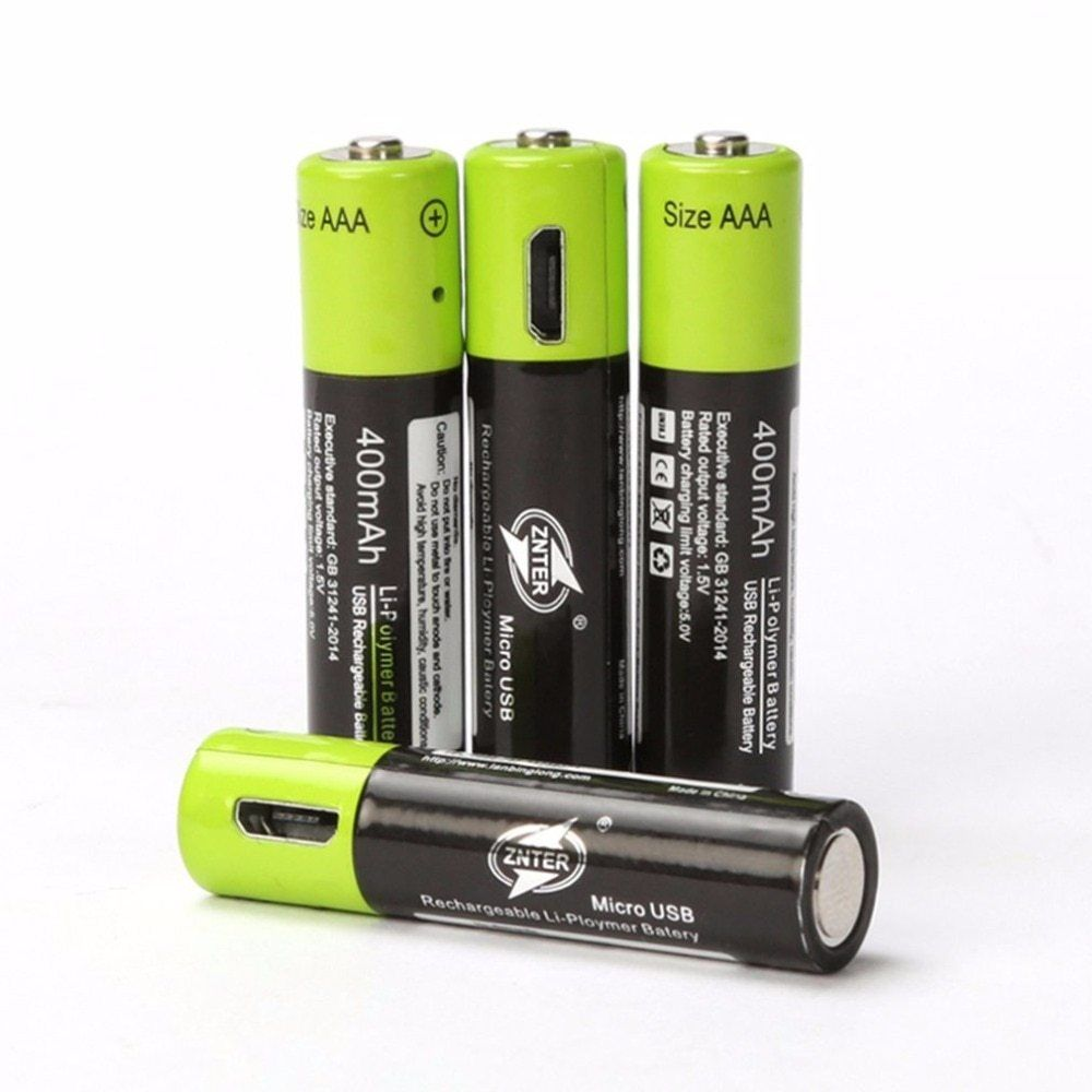 Aaa Rechargeable Battery Voltage
