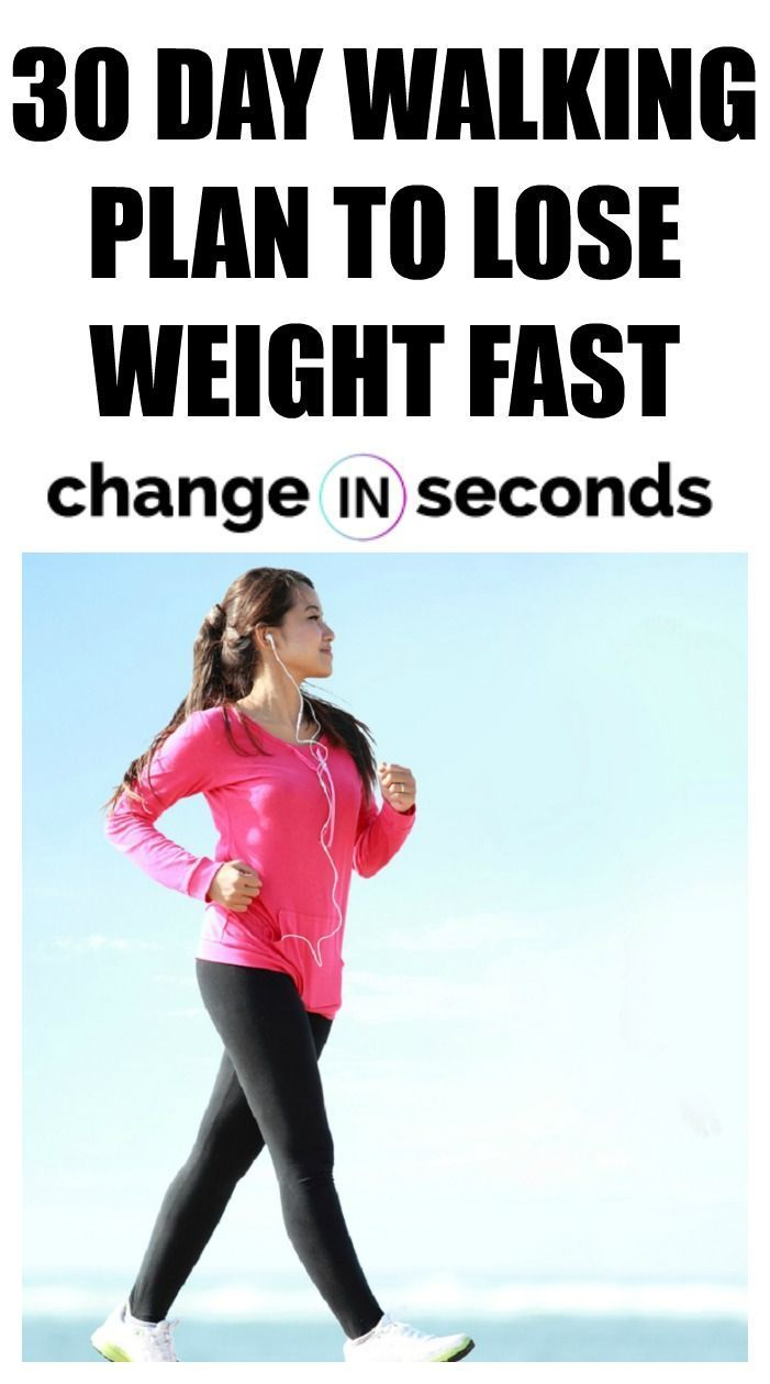 30 Day Walking Plan To Lose Weight Fast! Print our PDF workout today and get started on your path to...