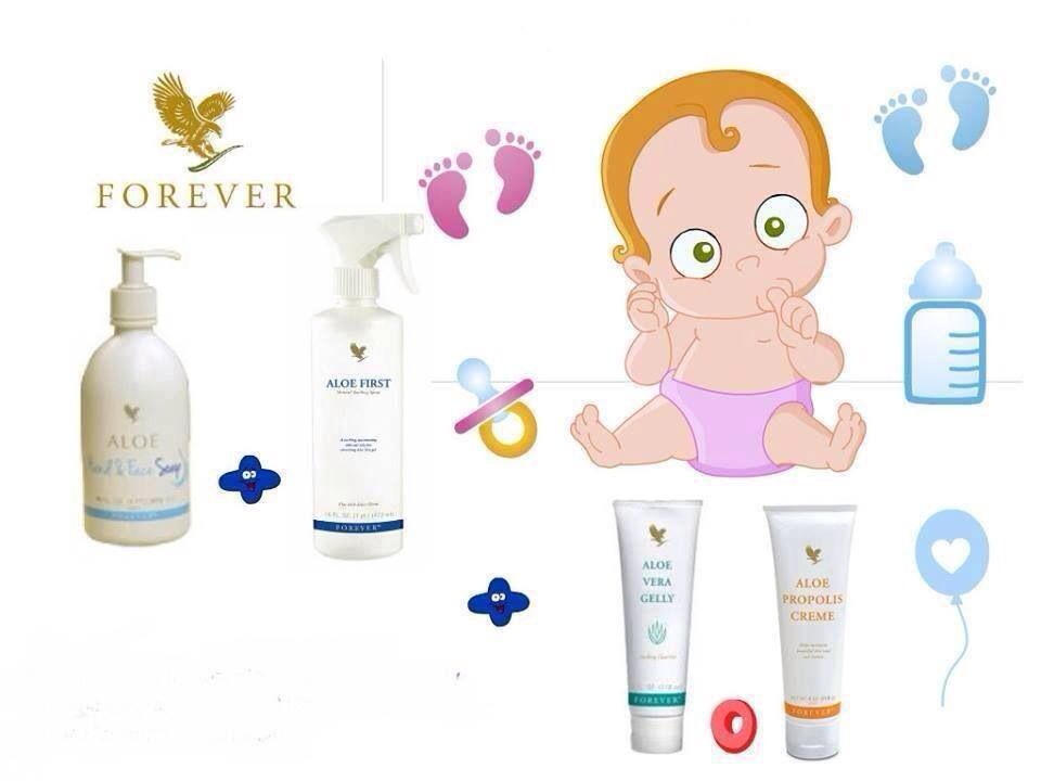 Magnificent products for any age forever aloe forever