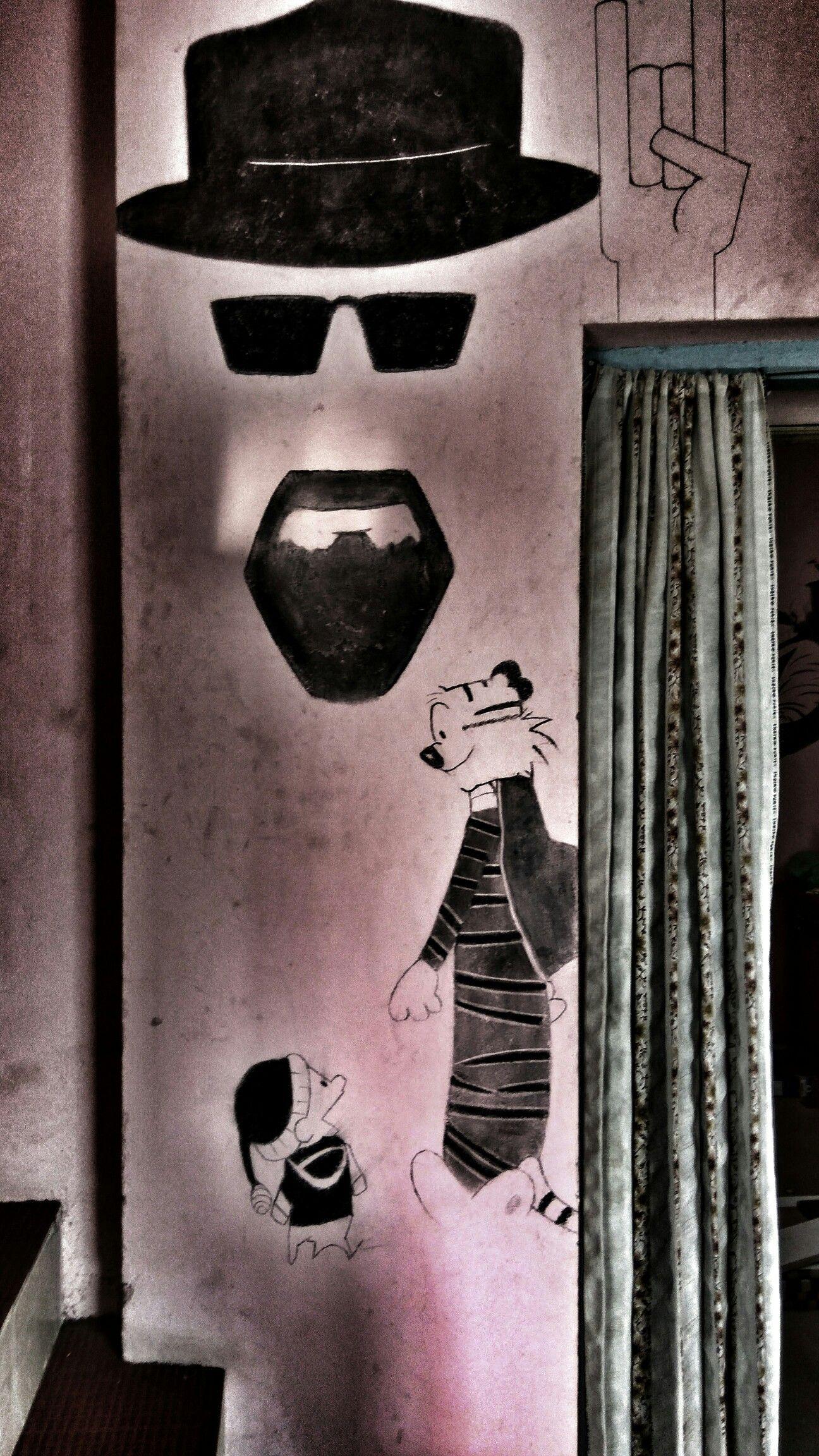 Heisenberg + Calvin and hobbes   Wall Art   Pinterest