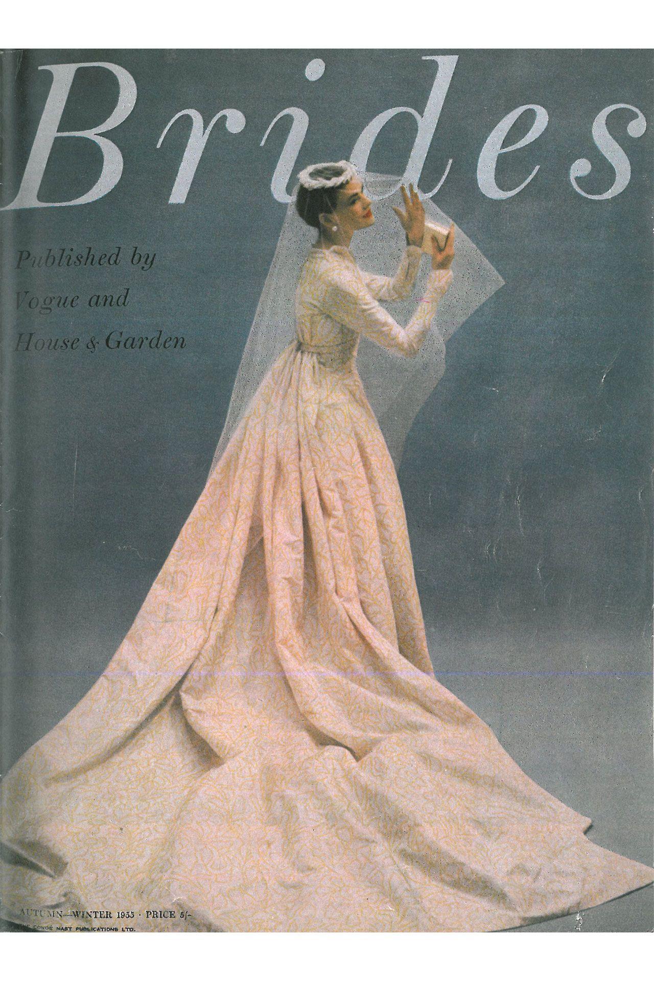 History of brides magazine bridesmagazine vintage weddings
