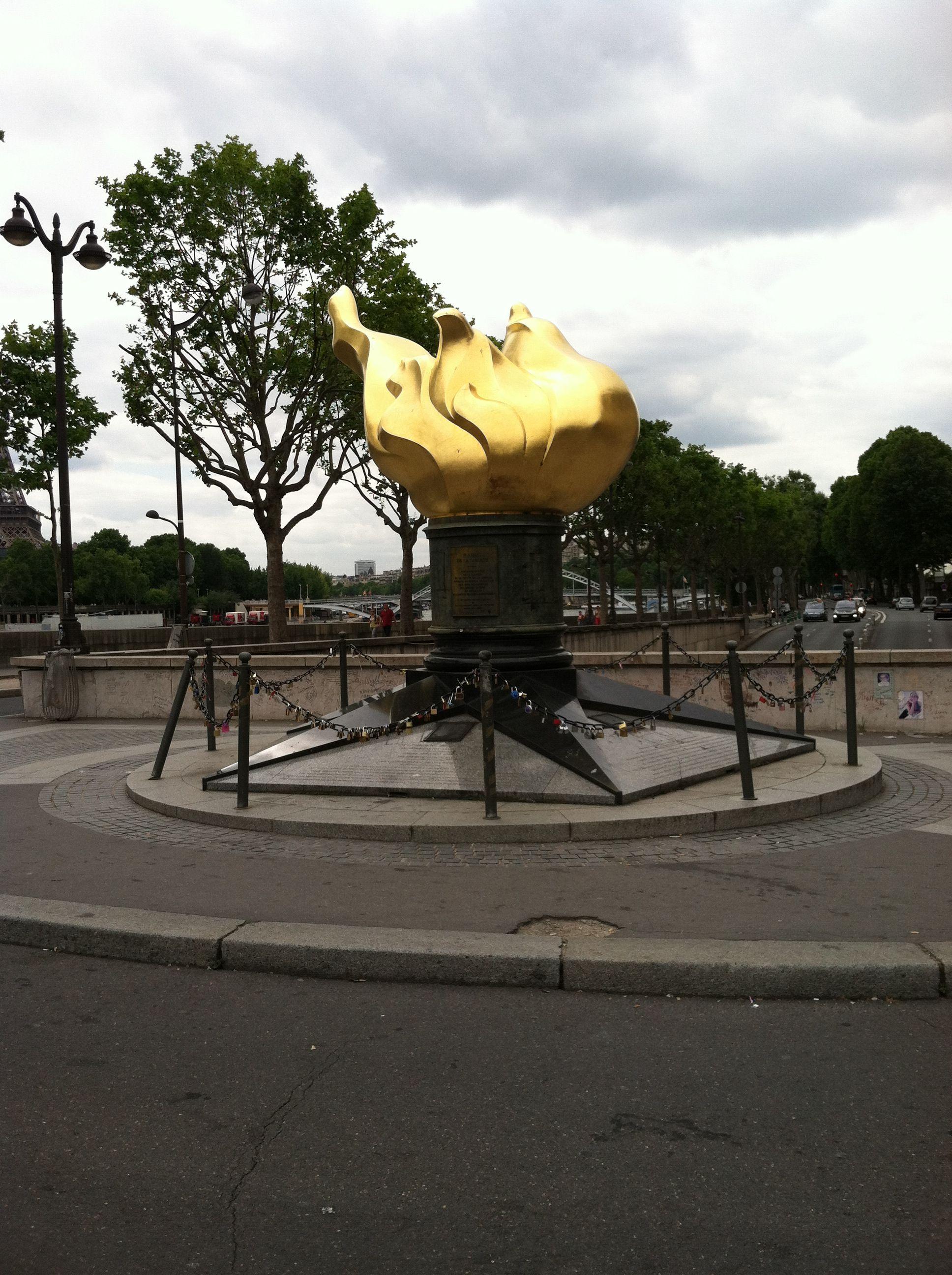 Flamme de la Liberté Paris, Great places, Princess diana