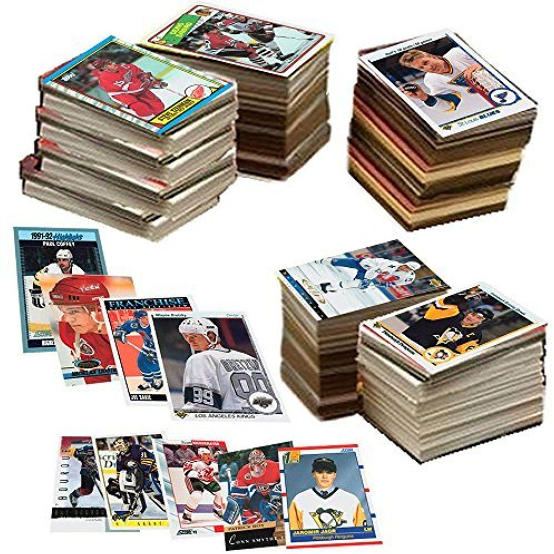 600 hockey cards including rookies many stars