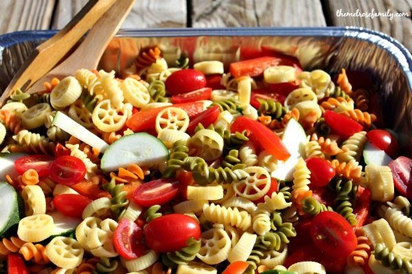 christmas pasta salad recipe pinterest fresh vegetables pasta salad and continue reading