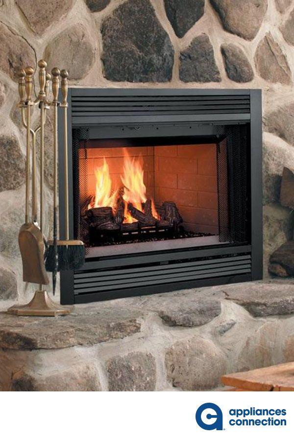 Majestic Sa36r 1 034 10 Brick Interior Wood Fireplace