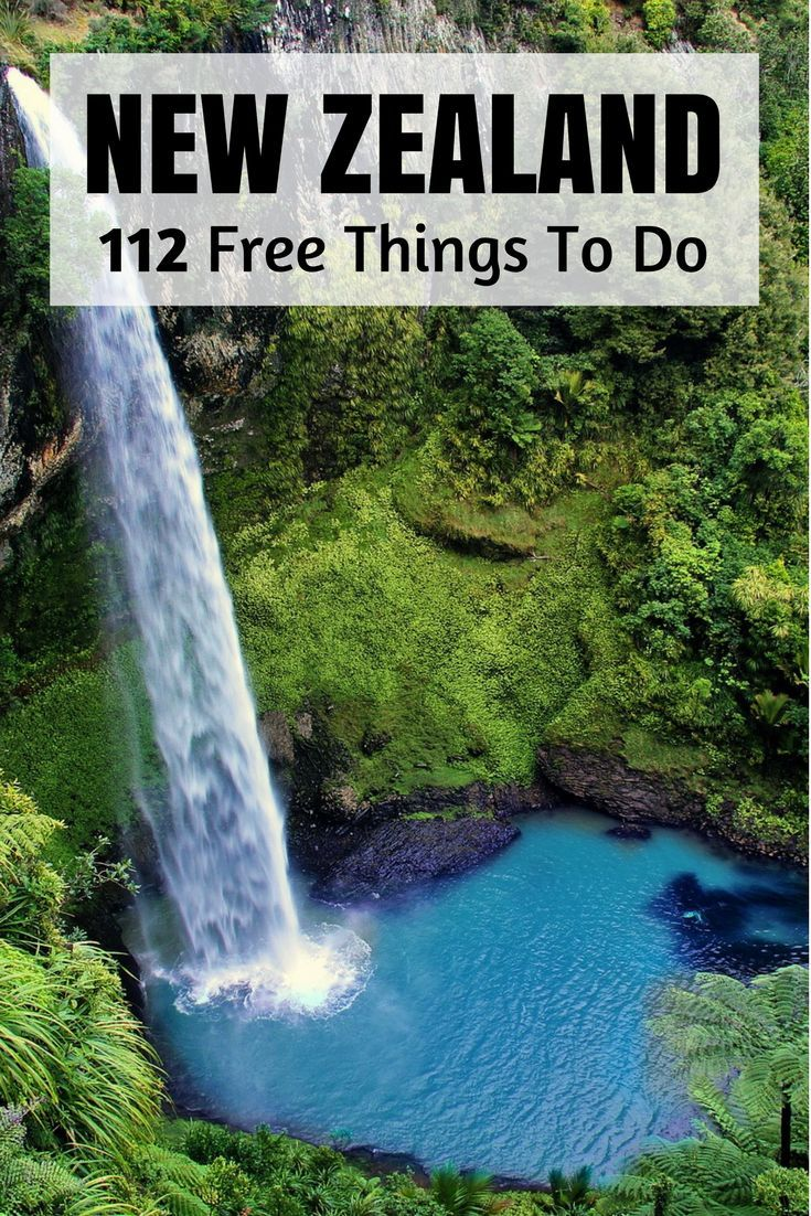 112 Free Things To Do In New Zealand (nationwide