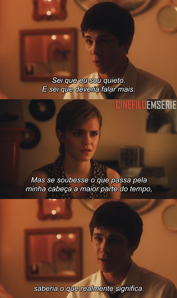 As Vantagens De Ser Invisível 2012 Frases Frases Movies E
