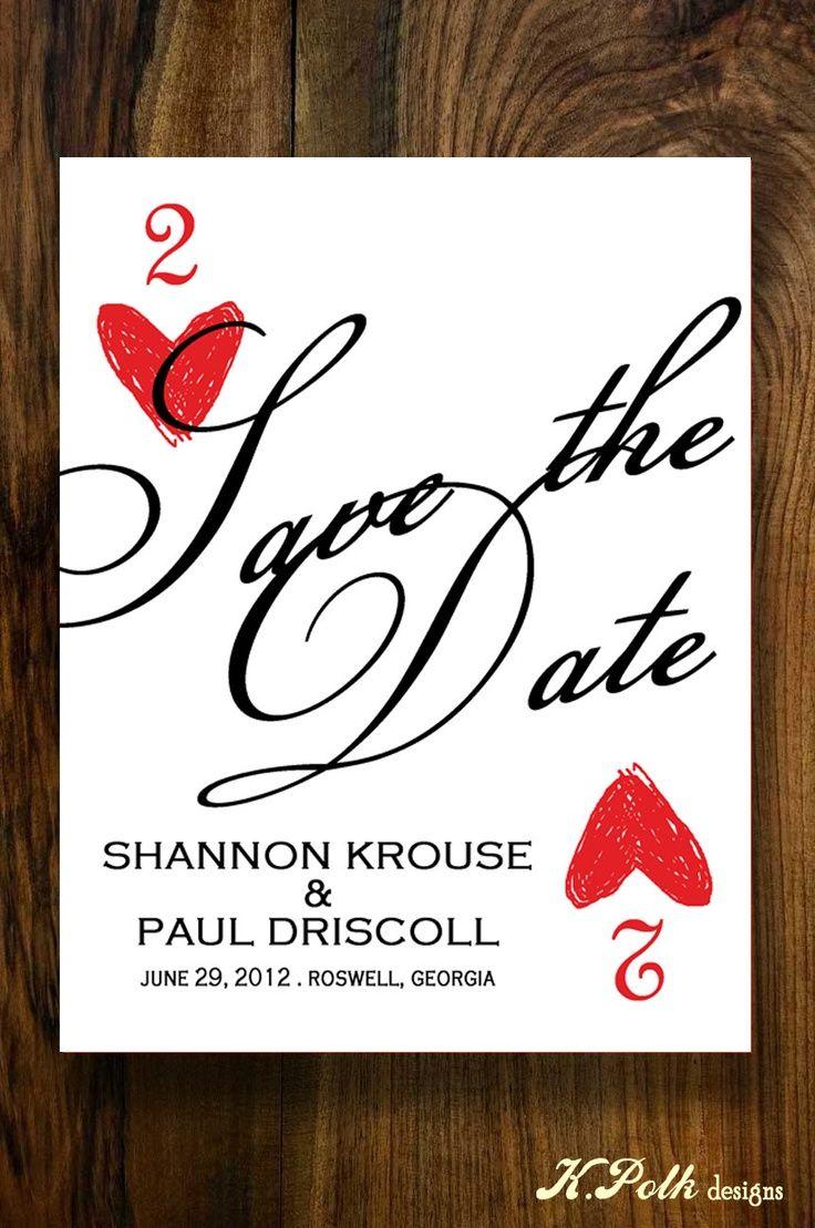 VIva Las Vegas - Save the Date Postcard. $0.90, via Etsy ...