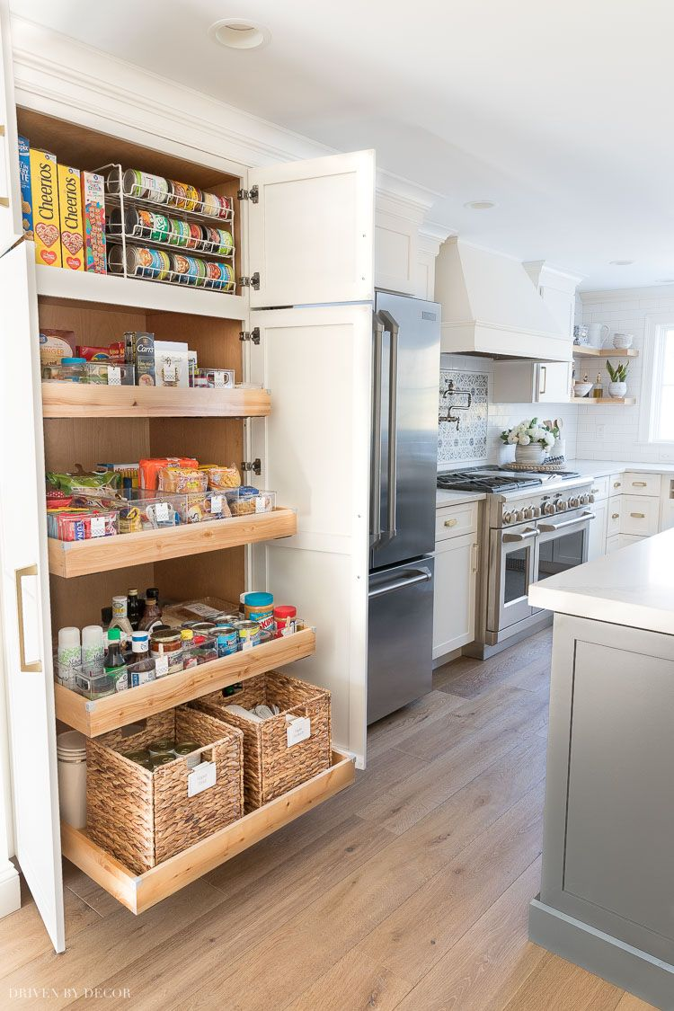 Pantry Organization Ideas: My Six Favorites! | Driven by Decor