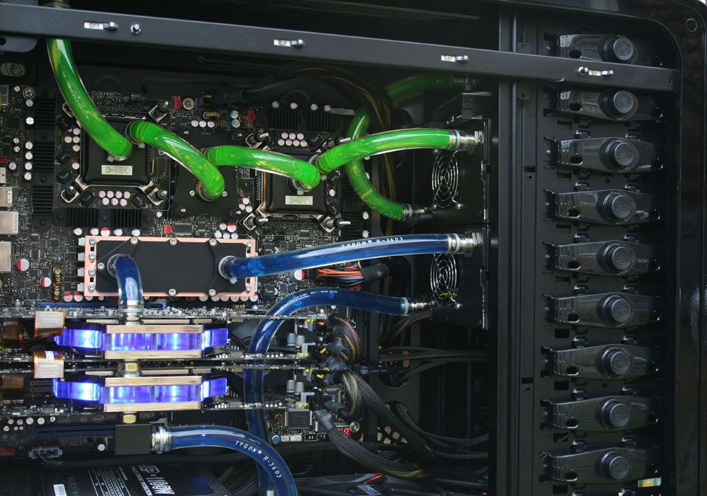 Liquid Cooling 2 Loops