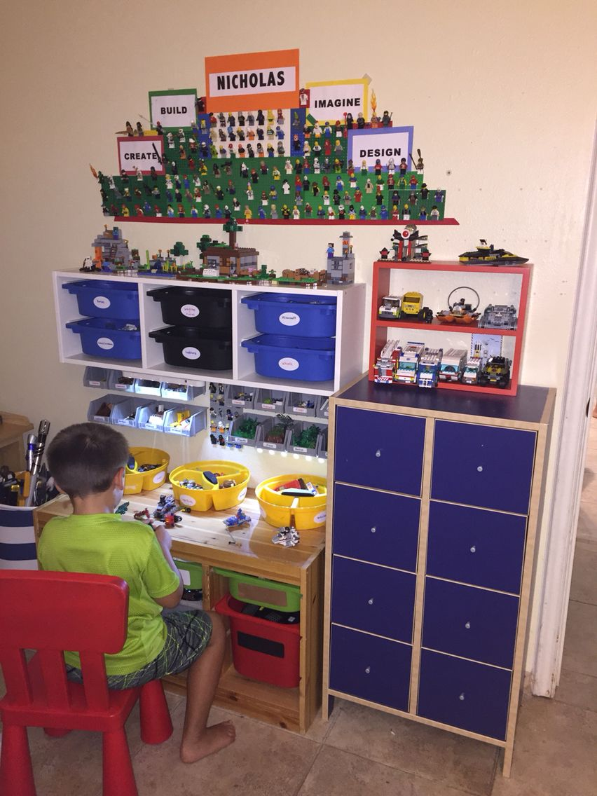 kids rooms - Boys Room Lego Ideas