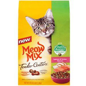 Meow Mix Tender Centers with Vitality Burst  3lb * Check out the image by visiting the link.