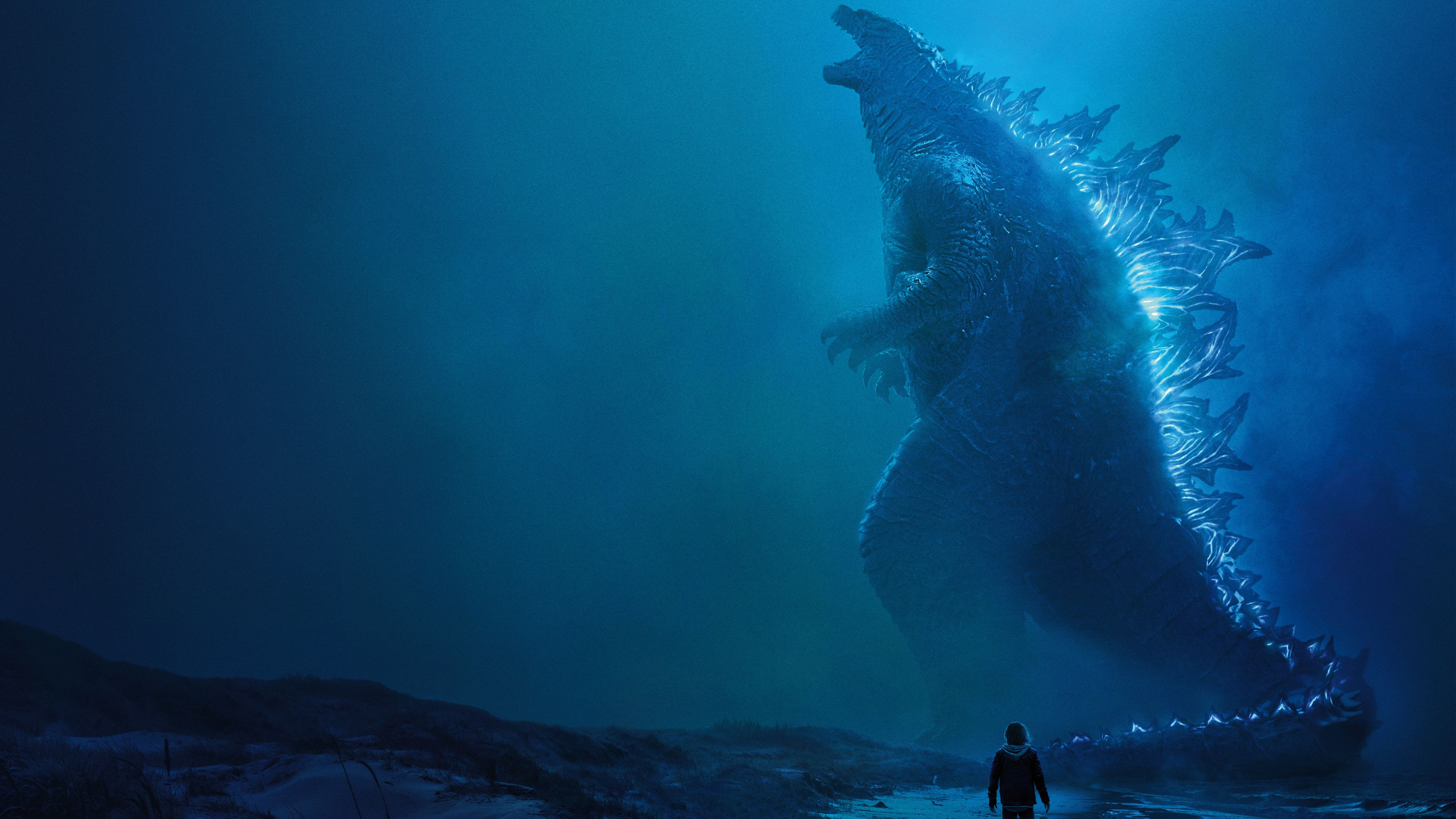 Godzilla King Of The Monsters 4k Poster Wallpapers Movies Wallpapers Millie Bobby Brown Wallpapers Hd Wallpapers Movie Monsters Godzilla Wallpaper Godzilla