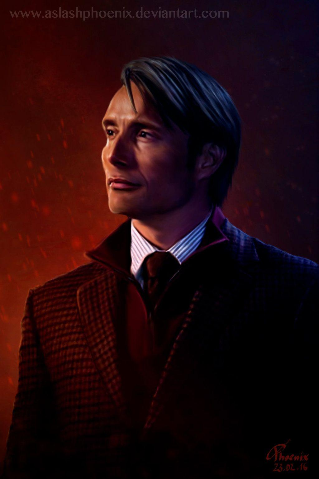 Hannibal by ASlashPhoenix.deviantart.com on @DeviantArt