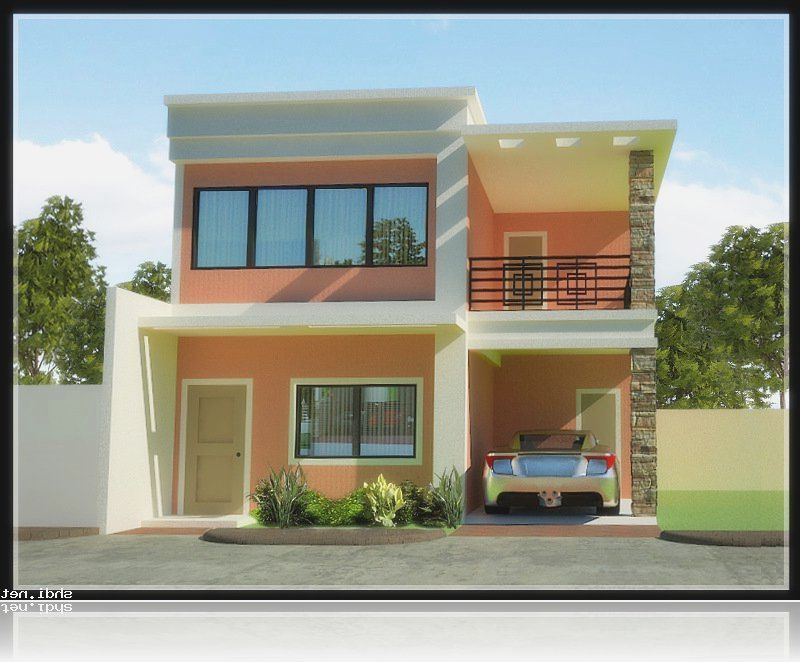 Planning to build your own house? Check out the photos of these - simple house designs