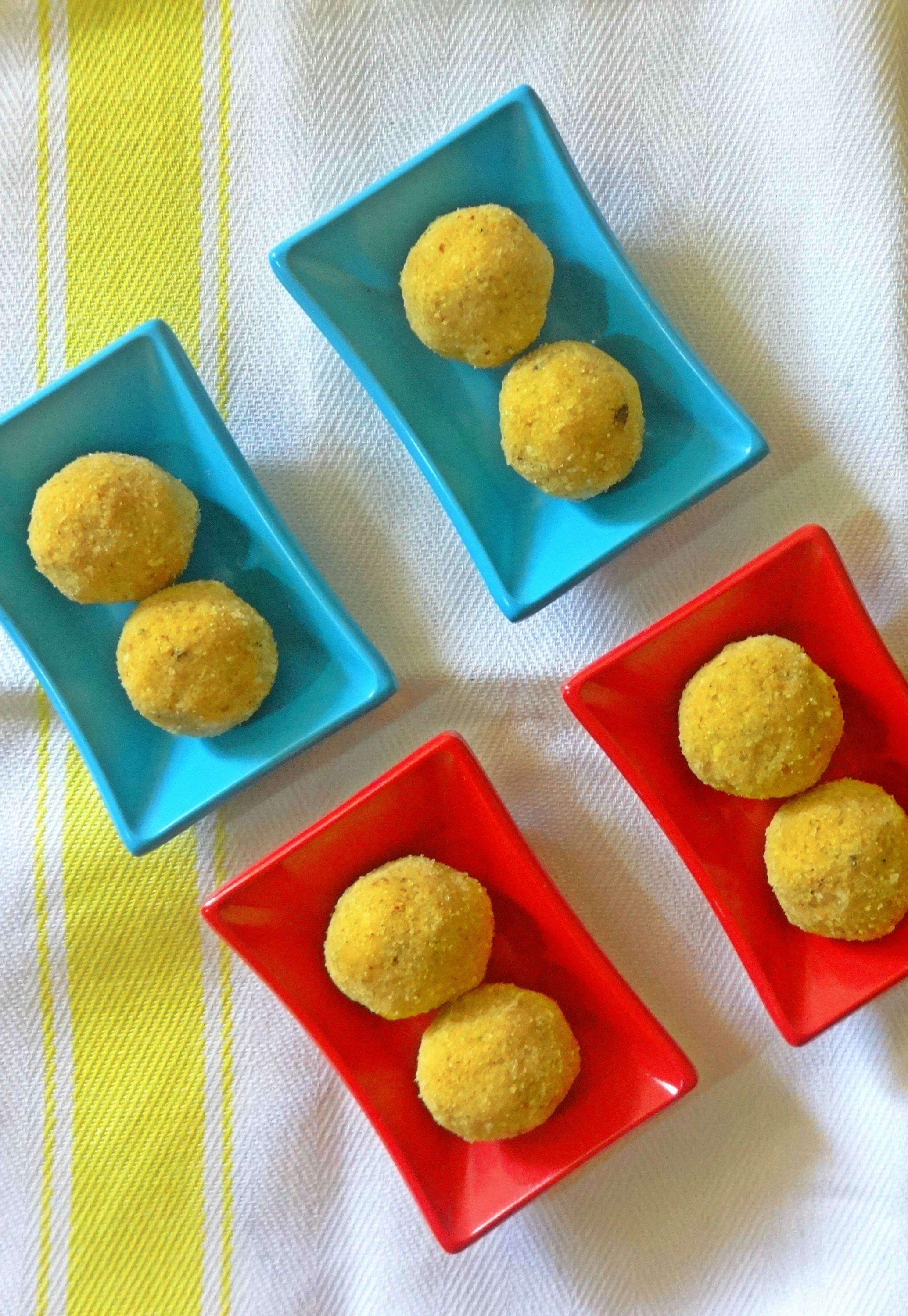Moong Dal (Split Green gram) Ladoo Recipe | lunch box | Pinterest ...
