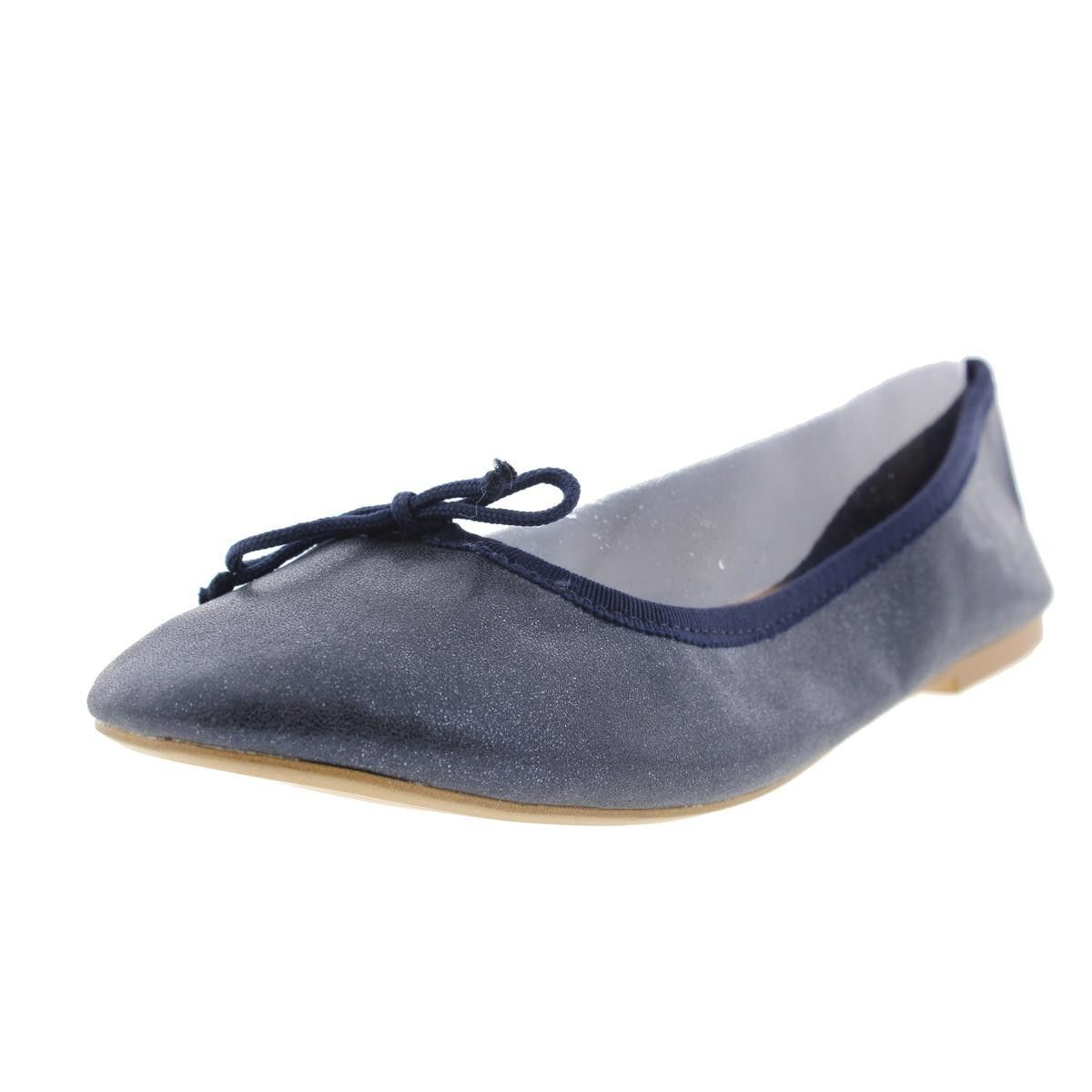 00264c6bd75 Zara Girls Metallic Ballet Flats
