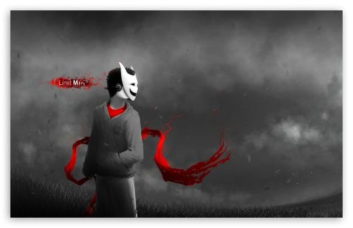 Boy With Mask Wallpaper Cool Anime Wallpapers Dark Mask Anime Boy