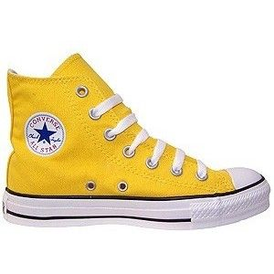 0fdf2a9fce4e Converse Chuck Taylor All-Star Yellow Hi Top