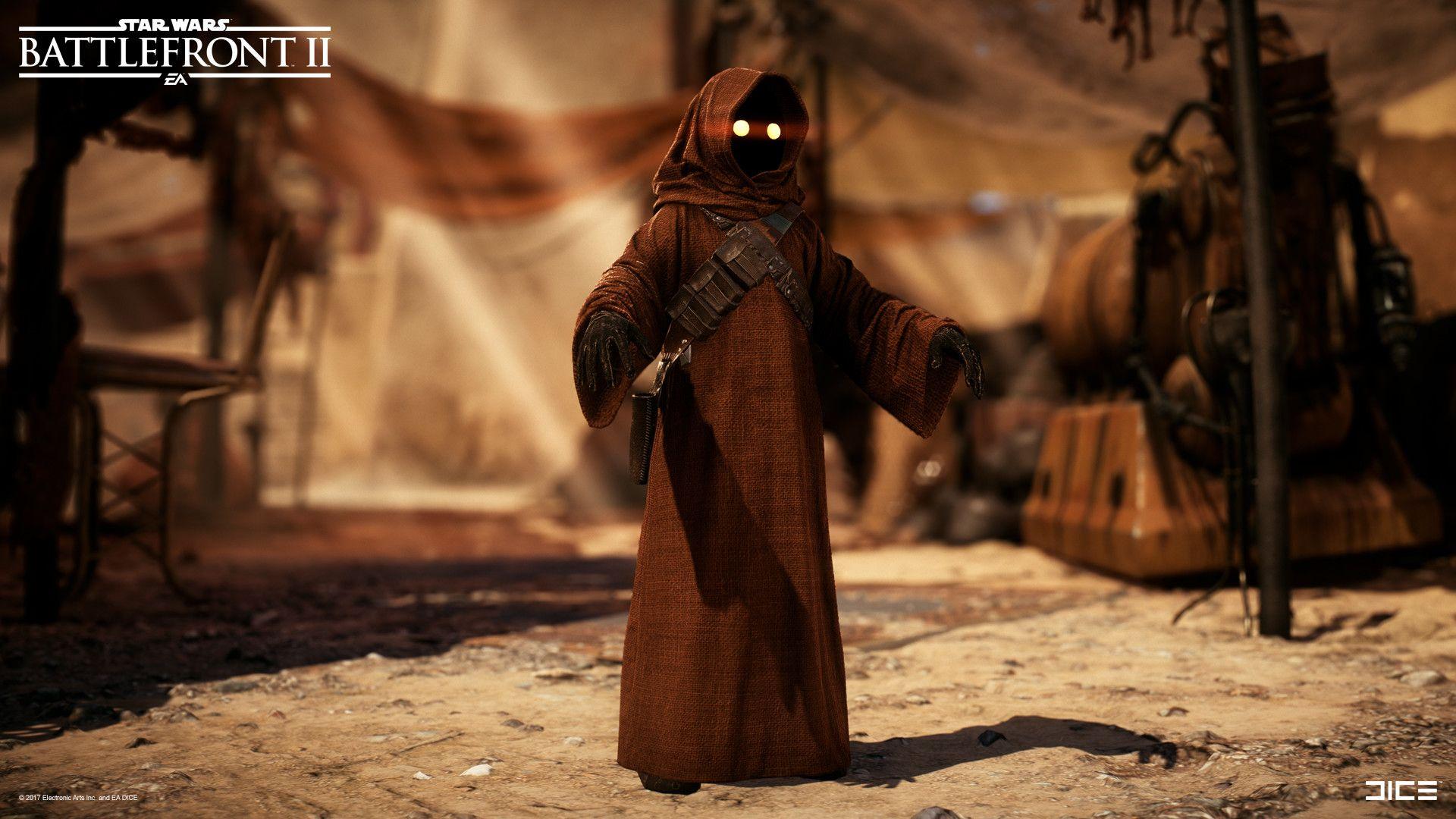 Artstation Star Wars Battlefront 2 Jawa Björn Arvidsson