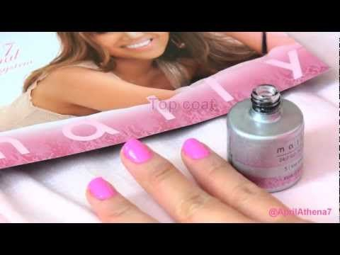 How To Gel Manicure At Home Mally Beauty 24 7 Nail Polish System