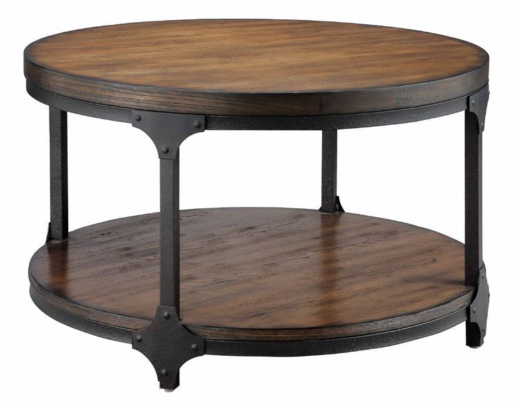 Market Round Coffee Table Family Room In 2019 Round Wood