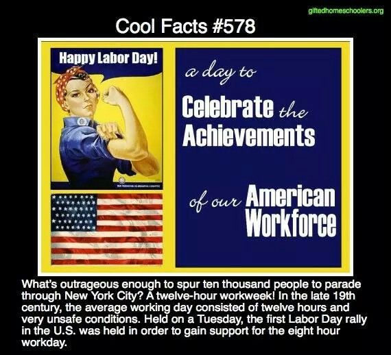 Cool facts #578  http://www.massaflcio.org/1888-labor-day-becomes-official-massachusetts-state-holiday