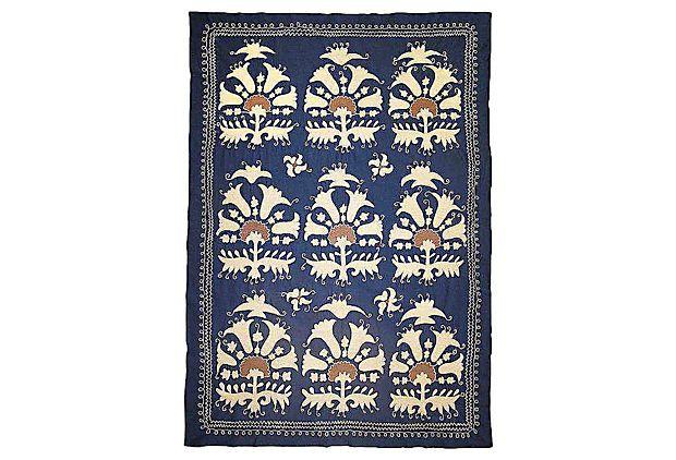 Uzbek Shrub-Design Suzani on OneKingsLane.com