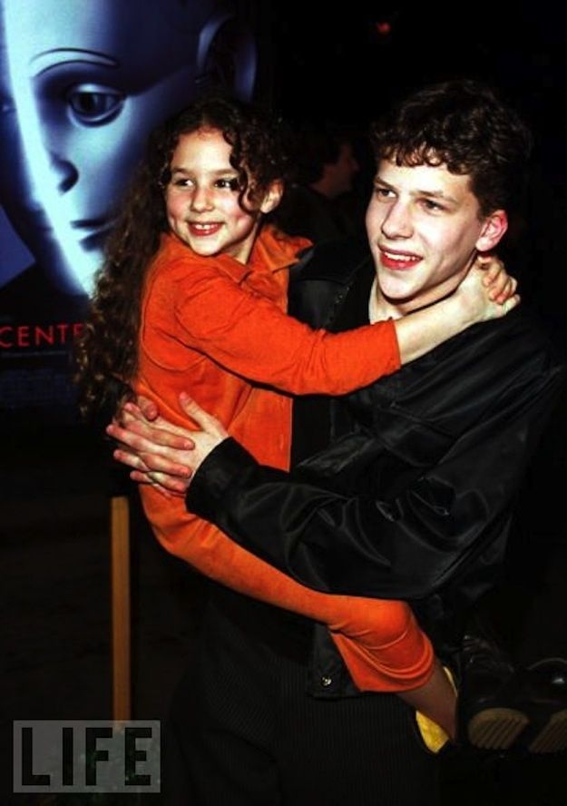 Jesse Eisenberg's Little Sister Once Starred In Those Famous