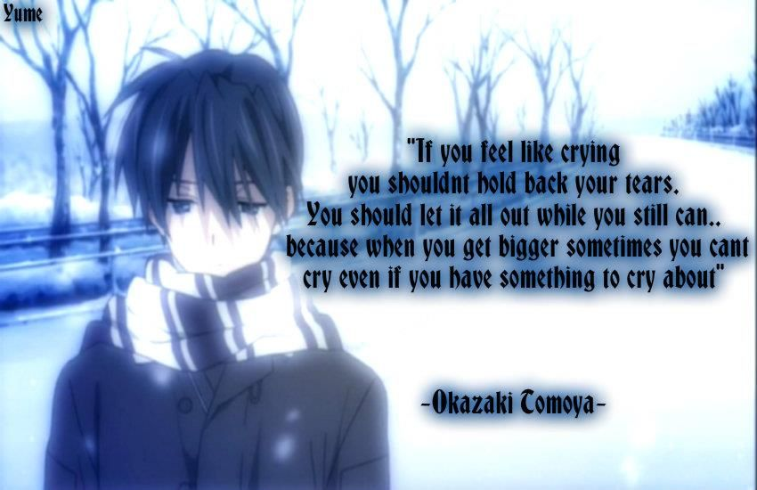 Clannad Quotes: Clannad. *sniffle*