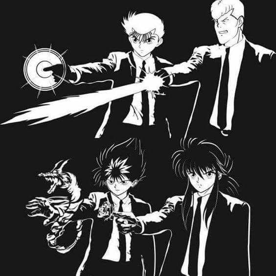 メインキャラクター4人の画像