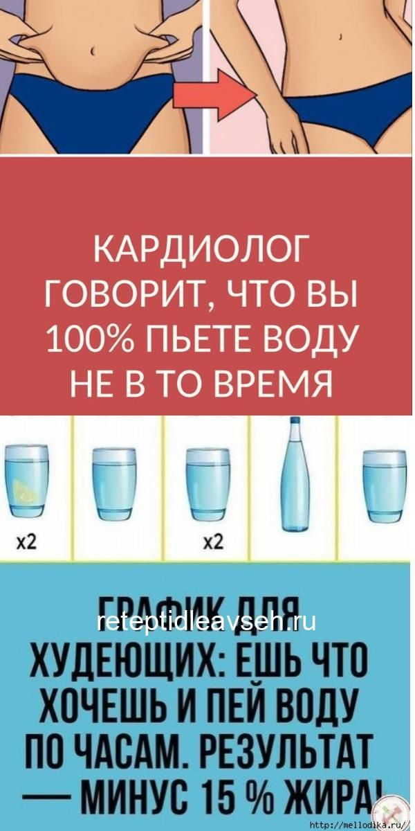 Похудеть От Приема Воды.