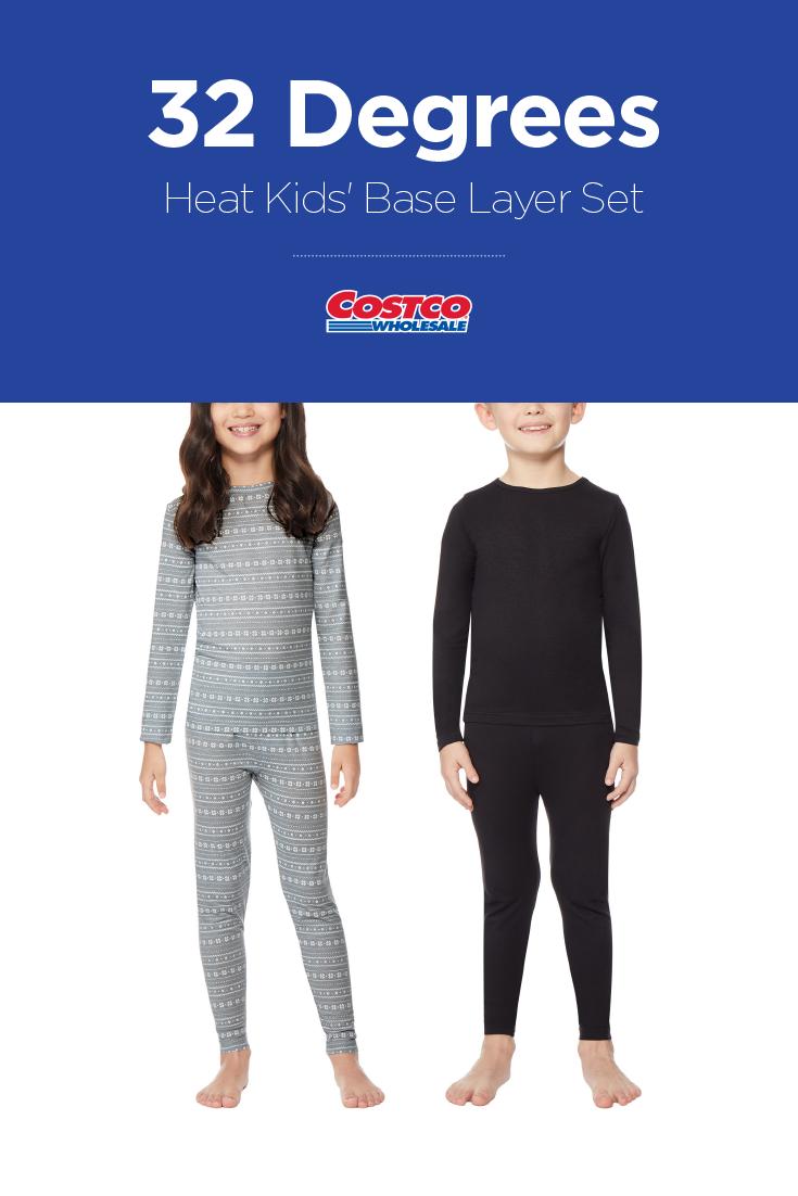 21a35761fa 32 Degrees Heat Kids  Base Layer Set