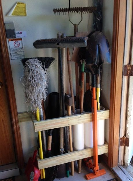 Clever Shed Storage Ideas