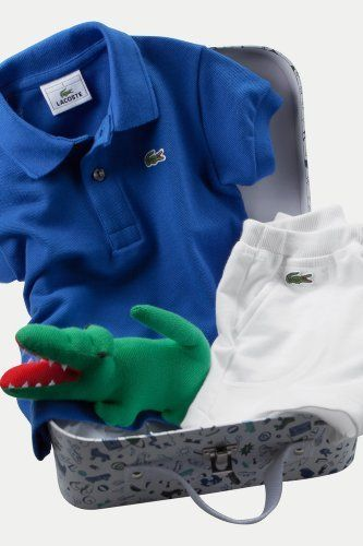 1d458abaf LACOSTE Baby Boy s Polo And Short Gift Set