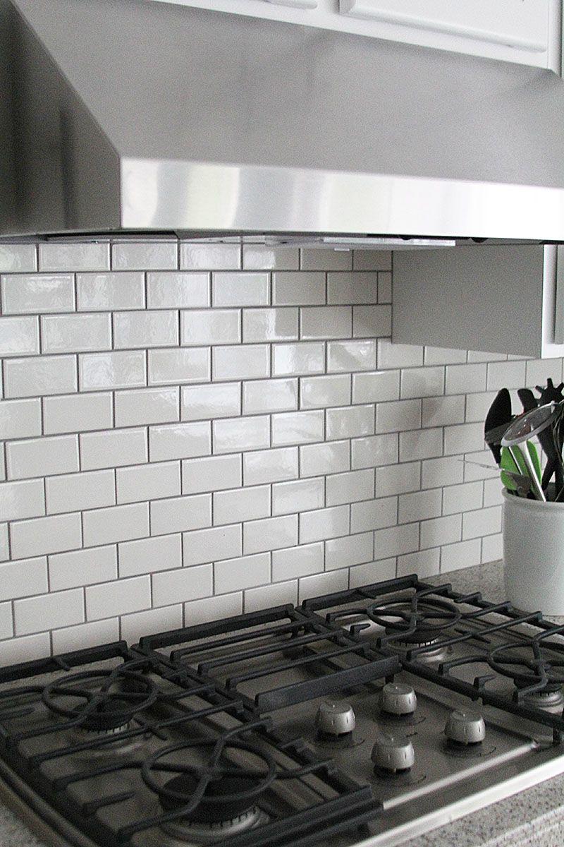 Subway Tile Kitchen Backsplash How To Subway Tile Backsplash