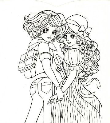 Kawaii Japan: Kawaii Japanese Coloring Booklet Sheets | Shoujo ...
