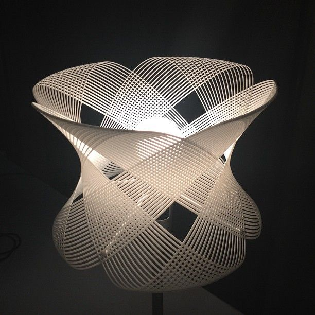 3d Printed Ceiling Lamp By Shapeways Community Id Lights 3dprinting Design 3d Printing Design