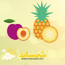 تعرف على الفواكه من الداخل والخارج تطوير مدارك وعلوم شمسات Fruit Pineapple