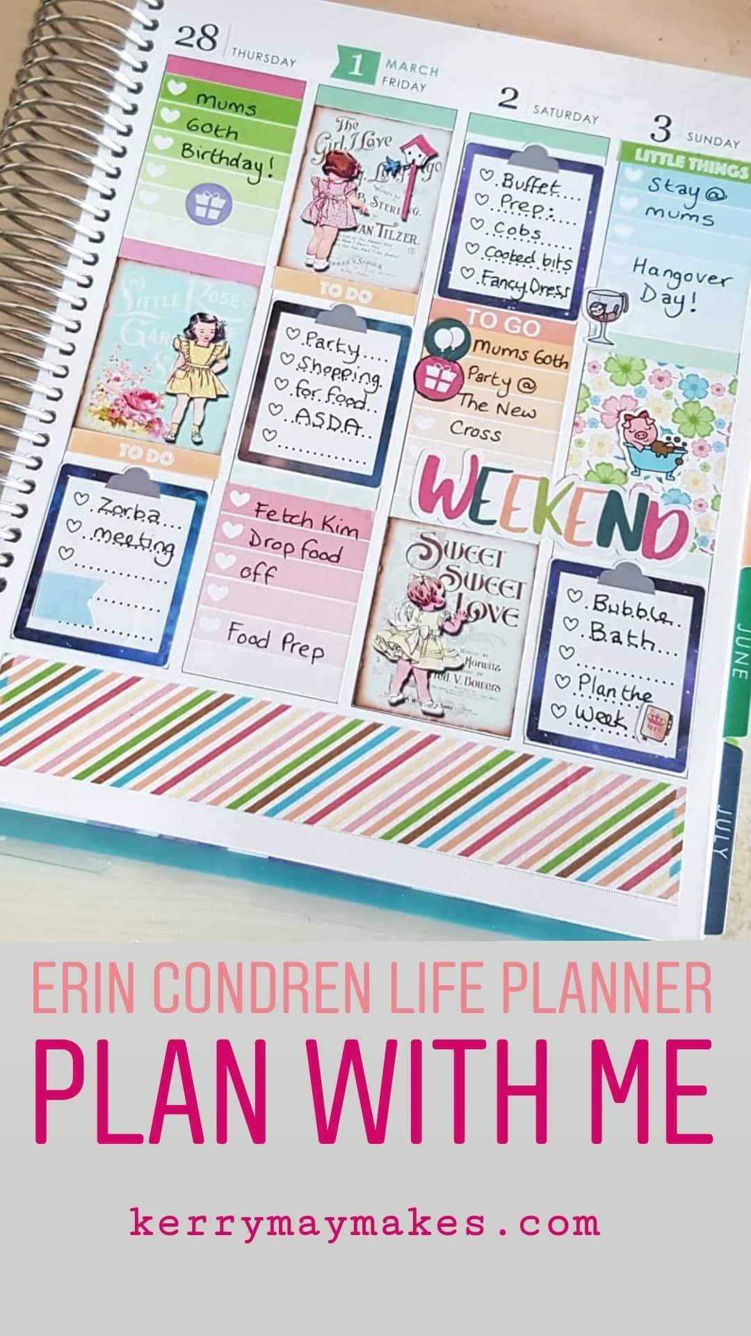Erin Condren Life Planner Pwm Erin Condren Life Planner Life Planner Erin Condren