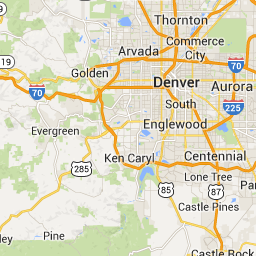 denver international airport to steamboat springs co usa google maps