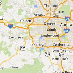 Denver International Airport to Steamboat Springs, CO, USA ... on denver on map, denver maps by neighborhood, denver art museum map, denver city street map,