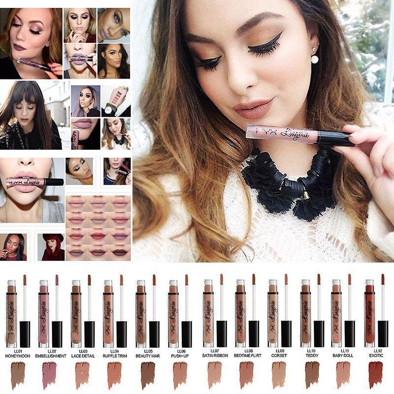 Ny Matte Liquid Lipstick 12 Colors
