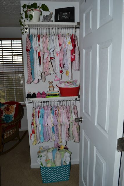 When There Is No Closet No Closet Need Ideas Baby