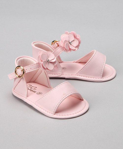 ..Pampili pink flower sandals..$18.99..