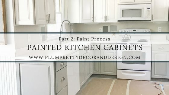 Painted Kitchen Cabinets  Budget Kitchen Makeover: Part 2 PAINT PROCESS |  Budgeting, Kitchens And Kitchen Decor