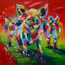 acryl schilderijen kleurrijk - Google zoeken